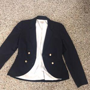 EUC Cremieux navy jacket blazer 2 small